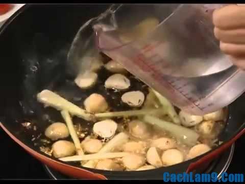Hướng dẫn cách nấu lẩu nghêu húng chanh