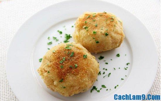 Hướng dẫn cách làm bánh cá hội với khoai tây nghiền
