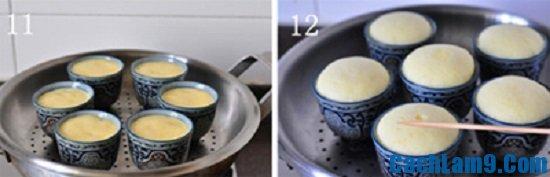 Hướng dẫn cách làm bánh cupcake hương chanh