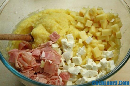 Hướng dẫn cách làm bánh gato khoai tây