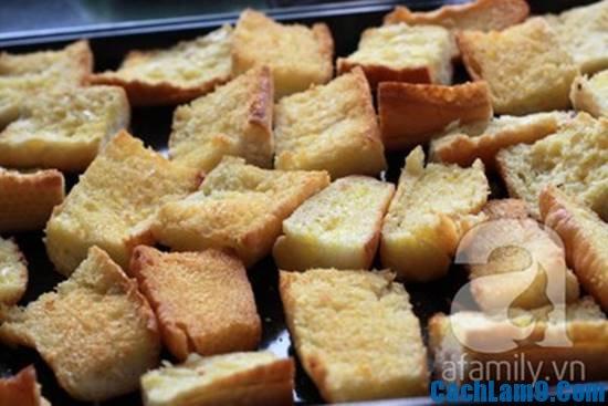 Hướng dẫn cách làm bánh mì bơ ruốc