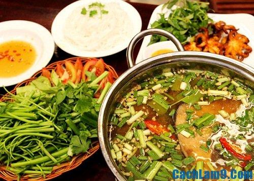 Cách nấu lẩu cá bớp măng chua cực nhanh và ngon