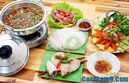 Hướng dẫn cách nấu lẩu cá bớp măng chua