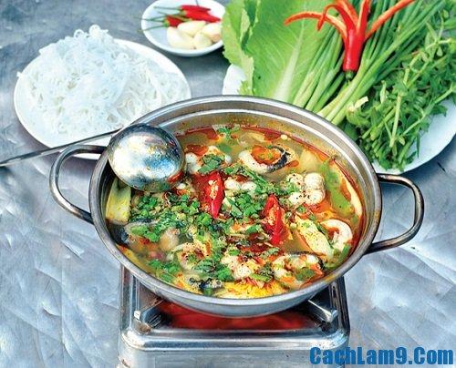 Cách nấu lẩu cá chình