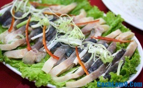 Nguyên liệu nấu lẩu cá chình
