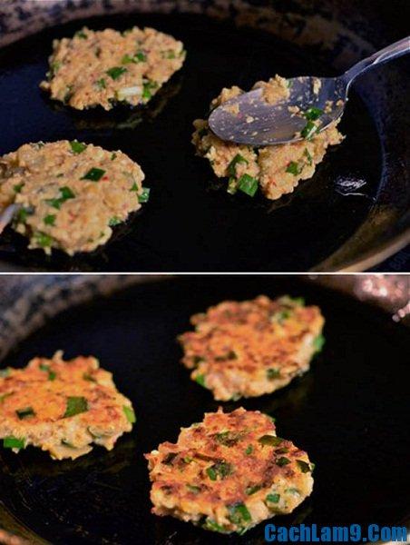 Hướng dẫn cách thực hiện bánh tôm kim chi