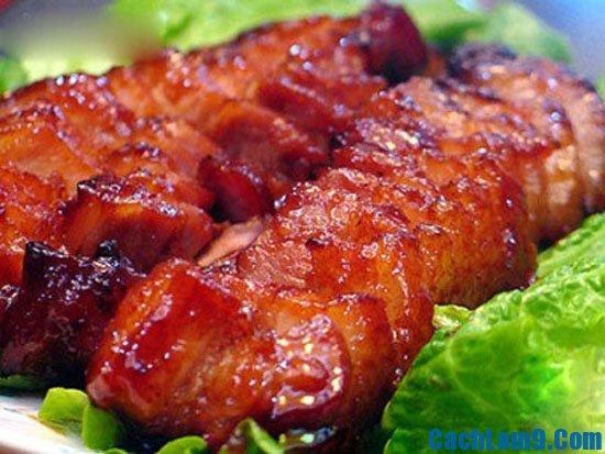 Yêu cầu thưởng thức món thịt xá xíu