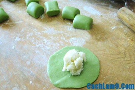 Hướng dẫn làm bánh chay trà xanh