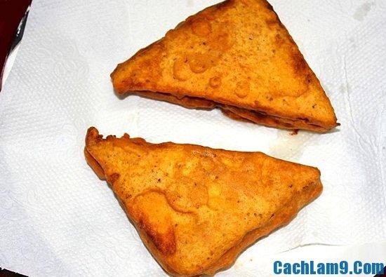 Hướng dẫn làm món bánh mì Pakora