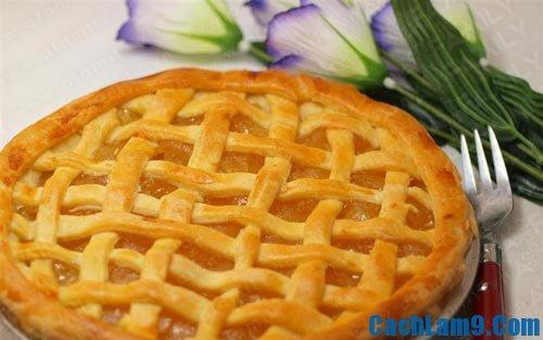 Cách làm bánh pie sữa chua nhân táo