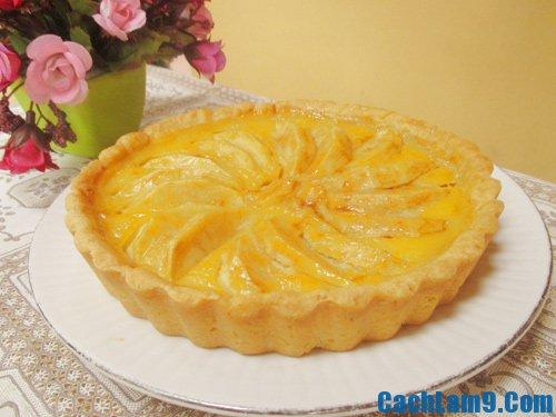 Hướng dẫn làm bánh pie sữa chua nhân táo