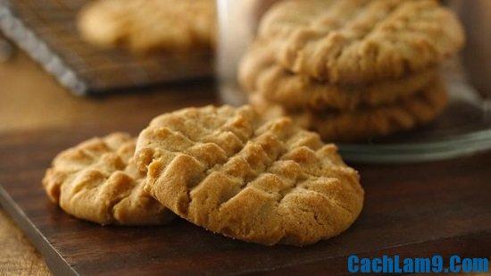 Hướng dẫn làm món bánh quy bơ đậu phộng