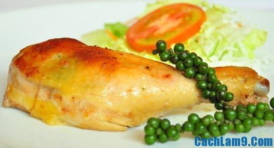 Cách làm gà nướng Pháp