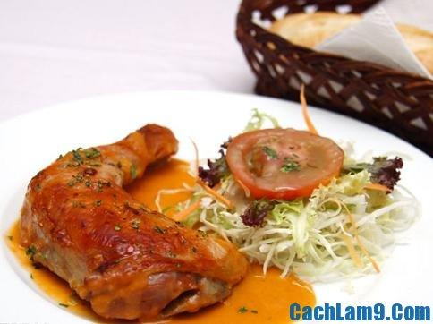 Yêu cầu thưởng thức món gà nướng Pháp