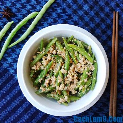 Hướng dẫn làm salad đậu cô ve