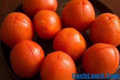 Nguyên liệu làm tương cà chua
