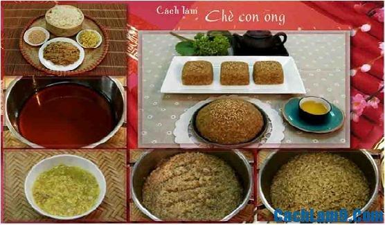 Hướng dẫn nấu món chè con ong