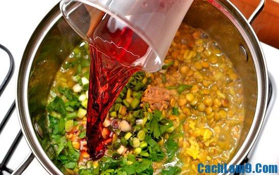 Hướng dẫn nấu soup lựu