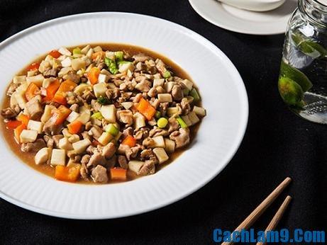 Cách làm thịt gà xàomộc nhĩ cach lam thit ga xao nam