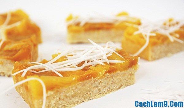 Cách làm bánh hoa quả