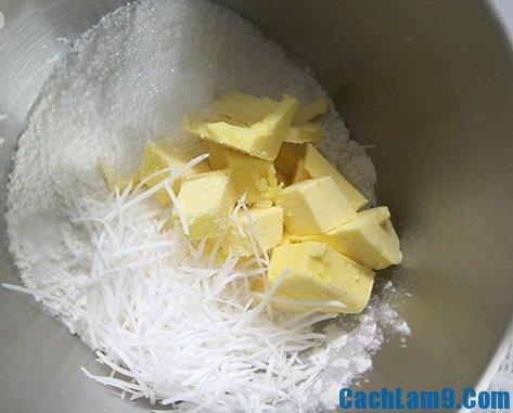 Nguyên liệu làm bánh hoa quả