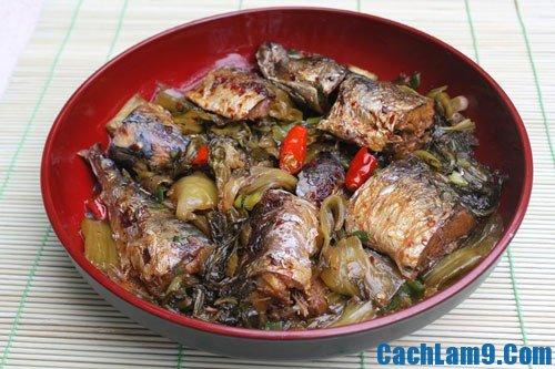 Cách làm cá kho dưa