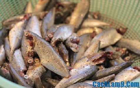 Nguyên liệu làm cá kho nghệ