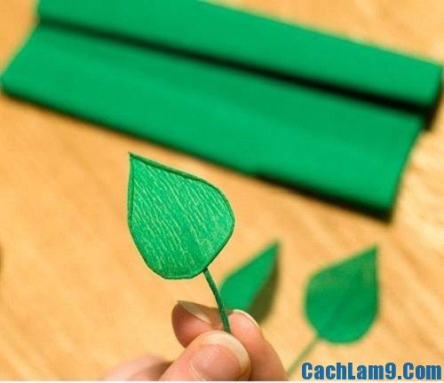 Cách làm cành hoa đào