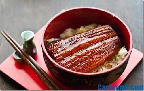 Cách làm cơm lươn Nhật Bản
