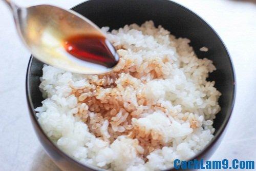 Hướng dẫn làm cơm lươn Nhật Bản
