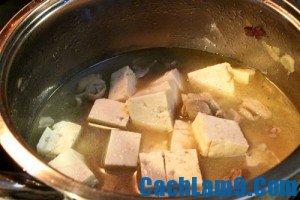 Cách làm đậu kho mắm cá
