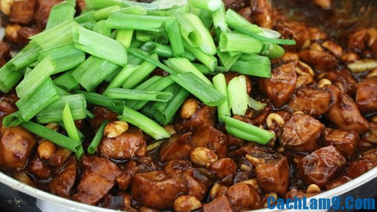 Hướng dẫn làm gà Kung Pao