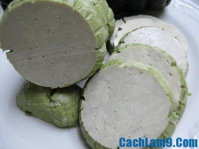 Cách làm giò chay đậu xanh