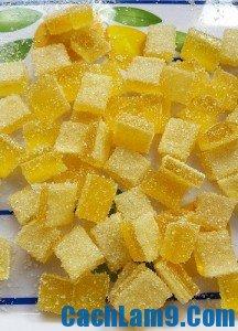 Cách làm kẹo gôm chanh dẻo