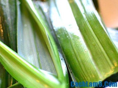 Nguyên liệu làm bánh Kuih Dadar
