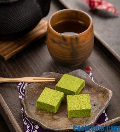 Cách làm nama socola hương trà