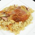 Cách làm vịt nhồi cơm gạo lứt