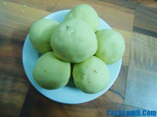Hướng dẫn làm xôi bọc lá dứa đậu xanh