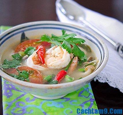 Cách nấu canh Tom Yum Goong