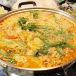 Cách nấu lẩu măng chua riêu cua