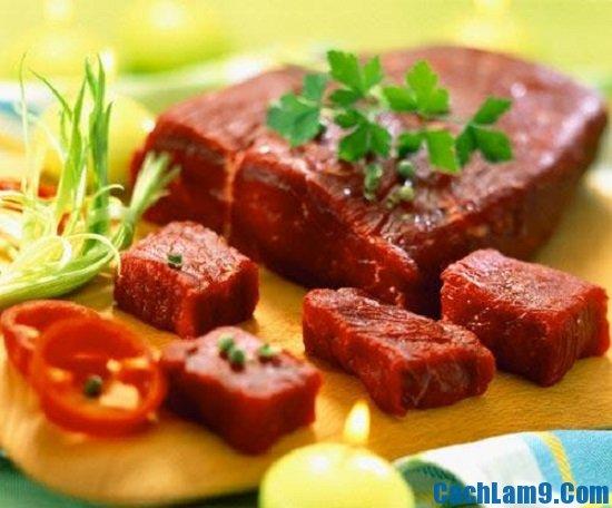Nguyên liệu làm thịt đà điểu hấp lá sen