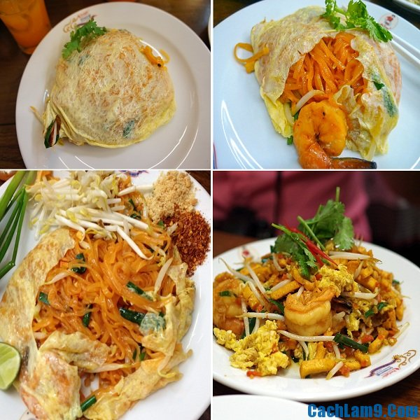 Địa chỉ những quán ăn, nhà hàng Pad Thai ngon nhất Bangkok