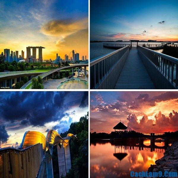 Du lịch Singapore ngắm hoàng hôn ở đâu đẹp và tuyệt nhất?