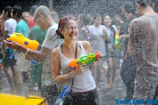 Những địa điểm diễn ra lễ hội té nước Songkran