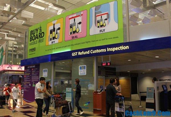 Mua sắm và thủ tục hoàn thuế khi du lịch Singapore bạn nên biết