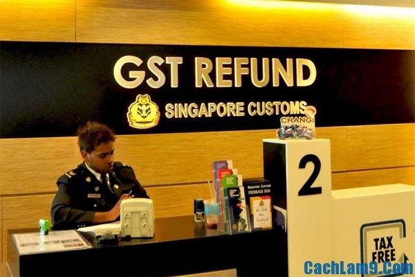 Hướng dẫn hoàn thuế shopping khi du lịch Singapore