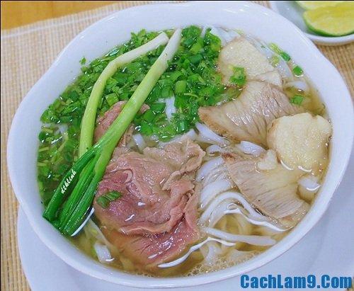 Món ăn ngon nổi tiếng khi du lịch Hà Nội
