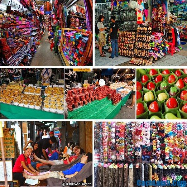 Khu chợ đêm nổi tiếng và hút khách nhất Bangkok