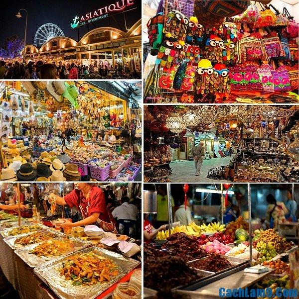 Những khu chợ đêm độc đáo, thú vị và nổi tiếng nhất định phải đến ở Bangkok