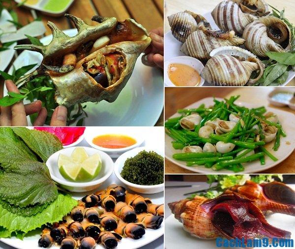 Địa chỉ những quán ốc ngon, rẻ, chất lượng hút khách du lịch Nha Trang nhất